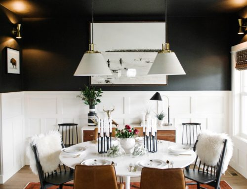 Why You Should Paint Your Ceiling Black!